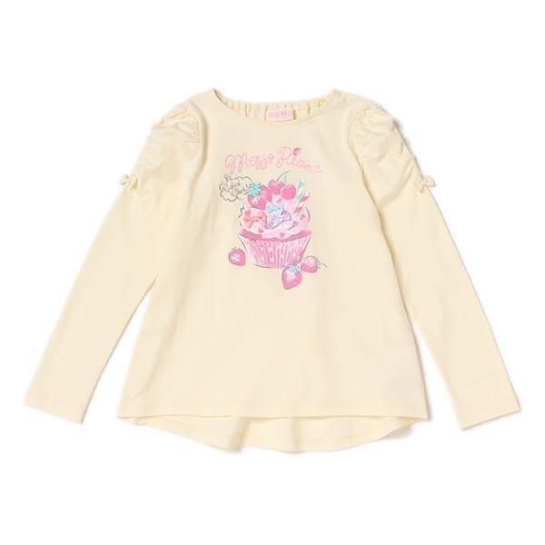シャーリングギャザーTシャツ,子供服,ブランド,女の子