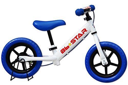 子供用自転車 ランニングバイク Bb★STAR ペダルなし自転車 ランニングバイク トレーニングバイク キッズバイク おもちゃ 乗用玩具 子供 幼児 子供自転車 プレゼントに最適 BB★STAR (ブルー),ペダルなし,自転車,