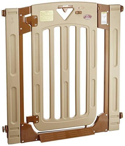 日本育児 ベビーゲート スマートゲイト II 6ヶ月~24ヶ月対象 扉開閉式の突っ張りゲート 幅木よけつき,ベビーゲート,