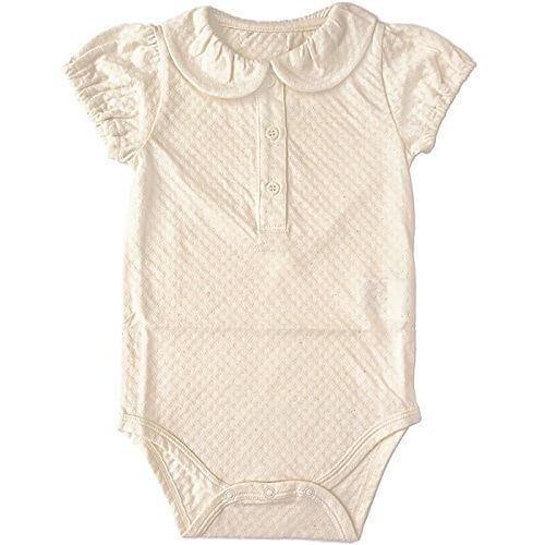 SENSE OF WONDER (センスオブワンダー) オーガニックコットン 日本製 BASIC 衿付 ボディスーツ (70cm),オーガニックコットン,新生児,肌着