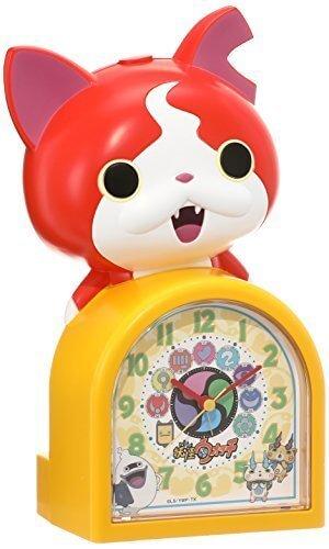 セイコー クロック 目覚まし時計 妖怪ウォッチ ジバニャン キャラクター型 おしゃべり アラーム アナログ JF378A SEIKO,小学校,入学準備,