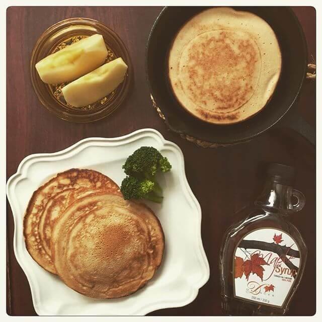 ニトスキでホットケーキの写真,レシピ,おしゃれ,ニトスキ
