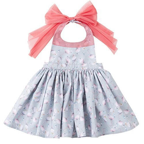 MARLMARL bouquet for baby (bouquet6 flamingo grey),ベビー,エプロン,