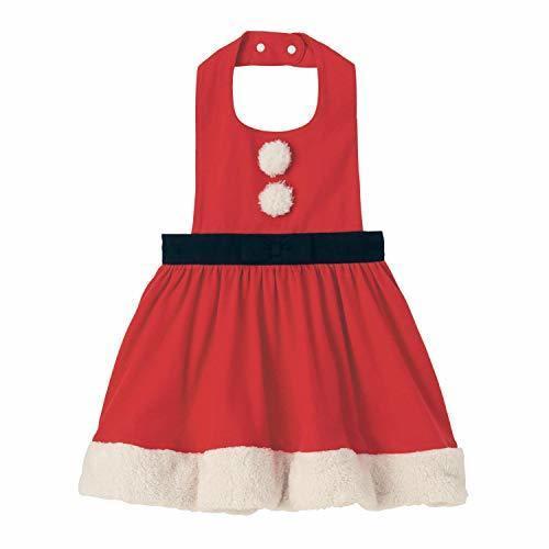 [ベルメゾン] 女の子 イベント エプロン ドレス レッド サイズ:110~120,ベビー,エプロン,
