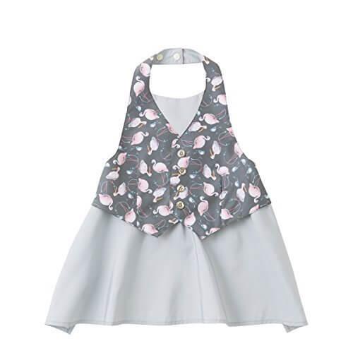 MARLMARL garcon for baby (garcon6 flamingo grey),ベビー,エプロン,