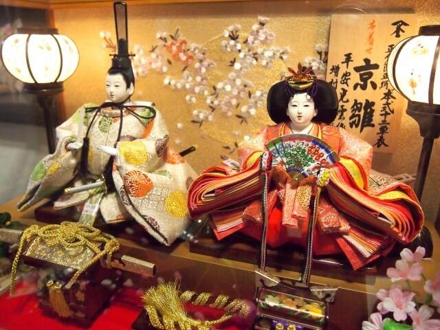 親王飾り,ひな祭り,人形,種類