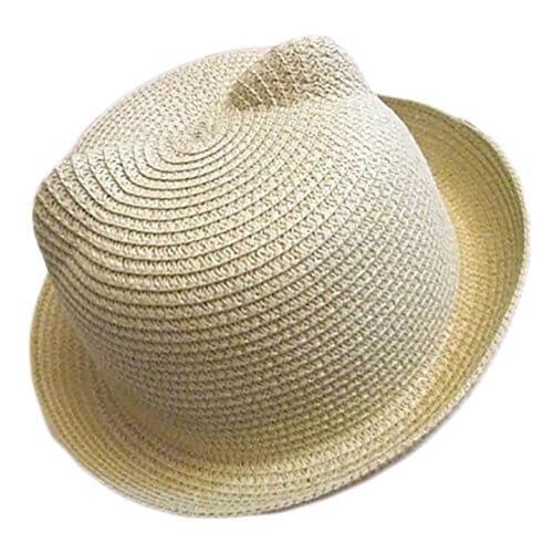 (アンジュ) Ange. 麦わら帽子 キッズ (ナチュラル),子ども,帽子,