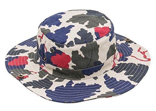 (よキーよ)Yokeeyo ベビー用ハット 紐付き つば広 カムフラージュ 薄地 フィッシャーマンハット 赤ちゃんキャップ アウトドアハット キッズ帽子 子供サンバイザー 人気 女の子 男の子 紫外線 UVカット 日よけ止め 日焼け防止,子ども,帽子,