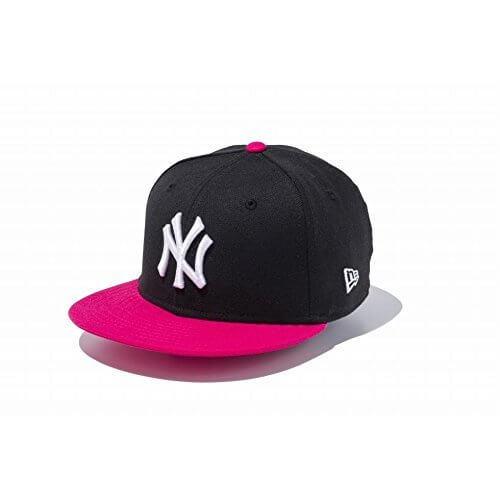 NEW ERA(ニューエラ) キッズ スナップバック キャップ ニューヨーク ヤンキース ブラック 帽子,子ども,帽子,