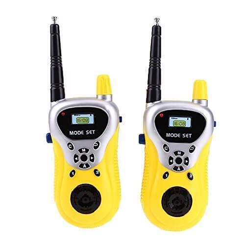 ペア通信おもちゃ 携帯電話子供おもちゃ 簡単操作 トランシーバー子供ギフト 耐久性 通信距離約30m,おもちゃ,トランシーバー,