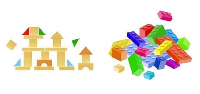 積み木とブロック玩具,