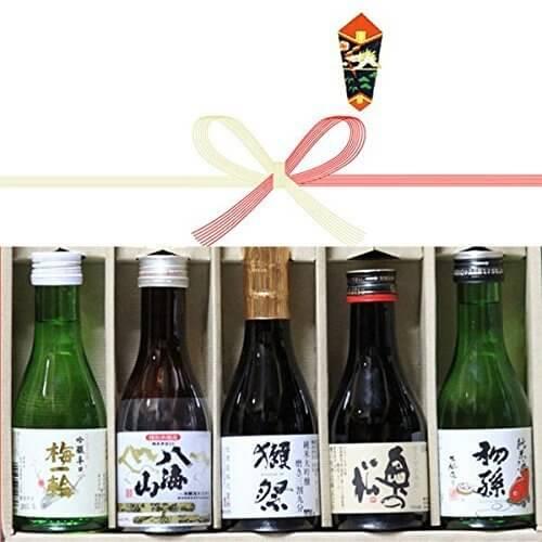 ギフトプレゼントに人気 日本酒獺祭(だっさい)入り飲み比べ180ml5本セット 内祝(出産),お酒,おすすめ,
