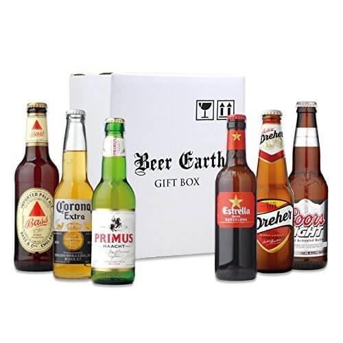 世界のビール 飲み比べ6本ギフトセット 【バスペールエール、ドレハー、プリムス、コロナ、Coors】 専用ギフトボックスでお届け,お酒,おすすめ,