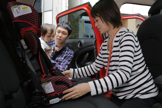 トラベルベストEC Fix (ISOFIX)チャイルドシート・ジュニアシートの選び方の装着体験談画像,トラベルベストEC Fix,チャイルドシート,選び方