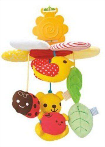 【Fromママ】 くるまでメリー りんごの木,チャイルドシート,おもちゃ,