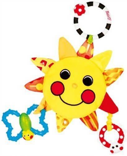 Sassy 【ベビーカー用おもちゃ】サンシャイン・ミラー TYSA733,チャイルドシート,おもちゃ,