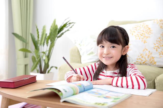 園児勉強,入学準備,ドリル,