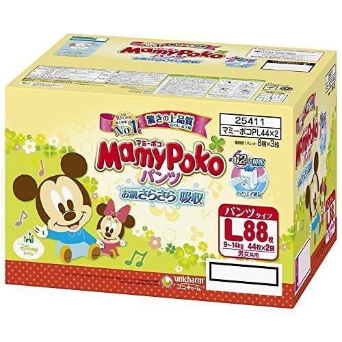 マミーポコ パンツ L (9~14kg) 88枚 (44枚×2),マミーポコパンツ ,