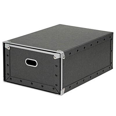 硬質パルプボックス・引出式・深型 約幅25.5×奥行36×高さ16cm,おもちゃ,収納,無印
