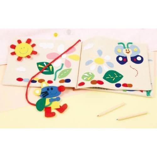 基礎縫い かんたん布絵本づくり,絵本,手作り,