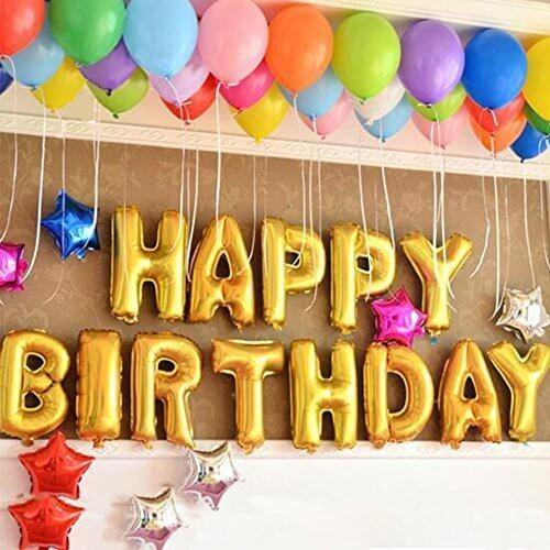 誕生日 飾り付け 風船、Happy Birthday バルーン、パーティー 装飾 風船、バースデー 飾り バルーン HB7G,1歳誕生日,飾り付け,
