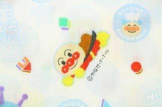 50cm単位 生地 布 綿 キャラクター ダブルガーゼ アンパンマン 気球 D2180-4 (A(ブルー)) [並行輸入品],手作り,マスク,