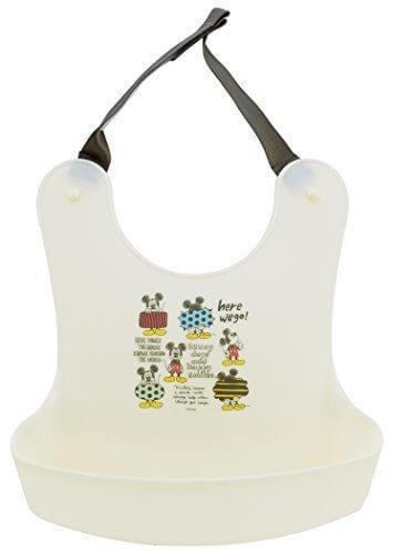 SKATER お食事エプロン ミッキーマウス スケッチ BEP4,離乳食,エプロン,