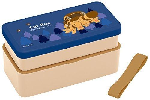 スケーター 松花堂 2段 弁当箱 となりのトトロ ネコバス スタジオジブリ 日本製 LS5,お弁当,小学生,