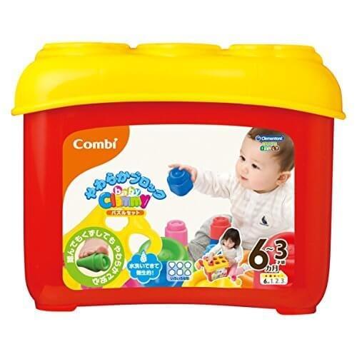 【baby Clemmy】 やわらかブロックパズルセット,おもちゃ,赤ちゃん,