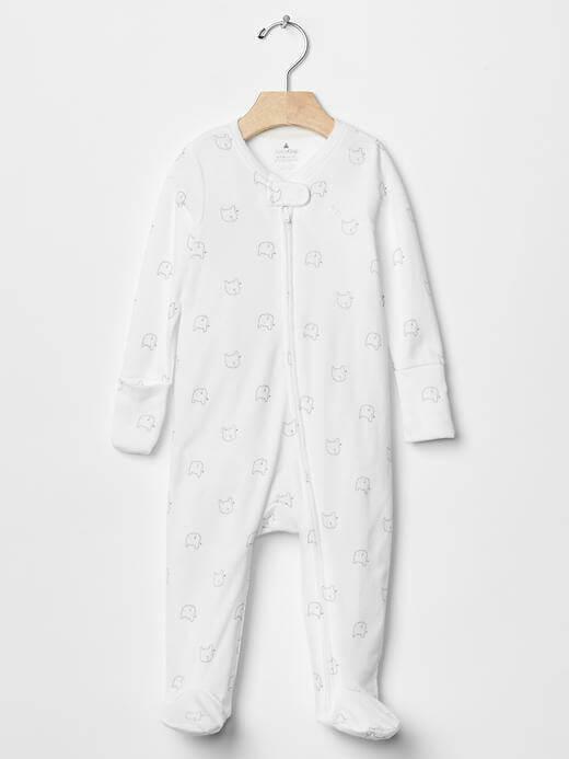 Favorite footed bear one-piece|baby gap,ベビー服,海外ブランド,