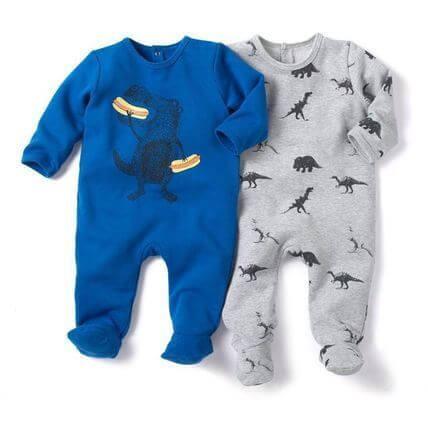 恐竜のモチーフパジャマ2点SET,ベビー服,海外ブランド,