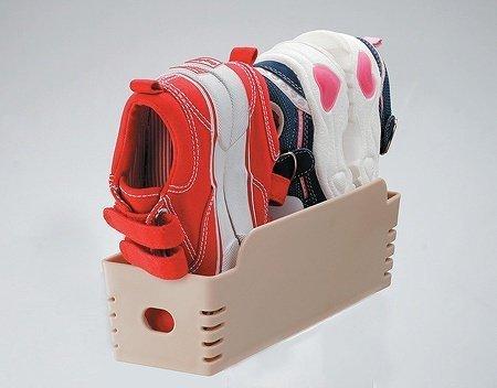ちびホルダー ベージュ,子ども,靴,収納