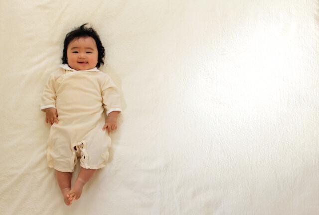 ねんねの赤ちゃん,新生児,2WAYオール,いつまで