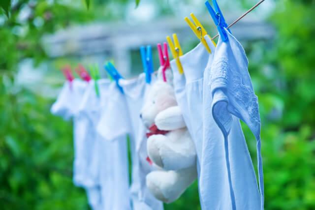 赤ちゃん服の洗濯,新生児,2WAYオール,いつまで