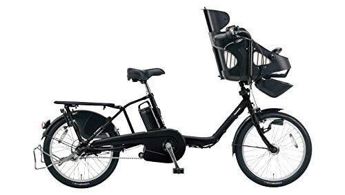 Panasonic(パナソニック) ギュット・ミニ・EX 20インチ 子乗せ電動自転車 2016年モデル 16.0Ah 内装3段 BE-ELME03B ピュアマットブラック 20インチ,電動,ママチャリ,