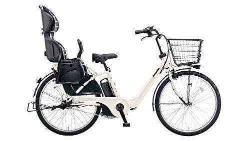 Panasonic(パナソニック) ギュット・アニーズ・F 26インチ 子乗せ電動自転車 2016年モデル 8.0Ah 内装3段 BE-ELMA63F プラチナアーモンド 26インチ,電動,ママチャリ,