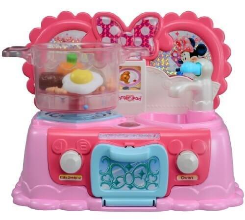 ディズニー トゥーンタウンミニーマウス 英語と日本語!大きなおなべのラブリーキッチン,手作り,おままごと,