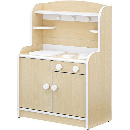 組立品 木製 ままごとキッチン minicook(4色対応) (ナチュラル),手作り,おままごと,