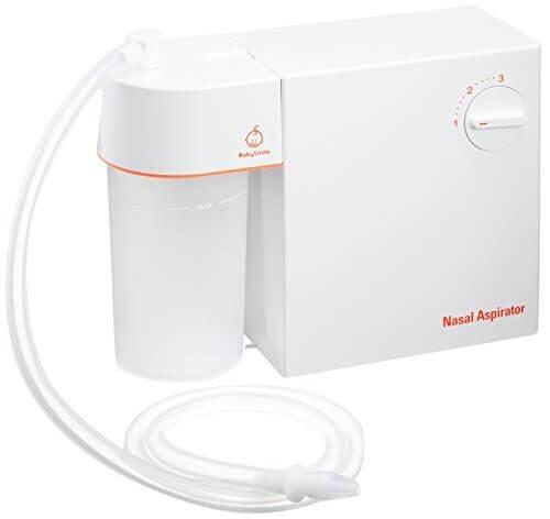 シースター Seastar ベビースマイル 電動鼻水吸引器 メルシーポット S-502 透明シリコンノズル小2個/鼻水吸引マニュアル付き,鼻吸い器,電動,