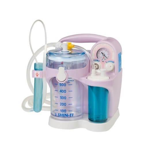 吸引器 パワースマイルKS-700(ピンク)シリコンオリーブ管付き 【平日ご注文は当日出荷】,鼻吸い器,電動,