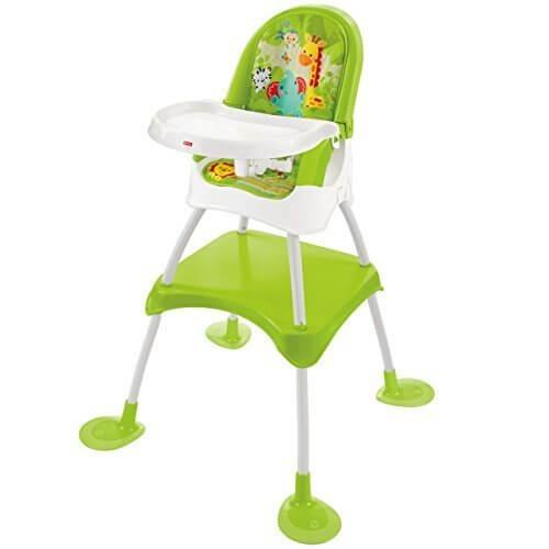 フィッシャープライス レインフォレスト 4WAYハイチェア (DVM42),離乳食,椅子,