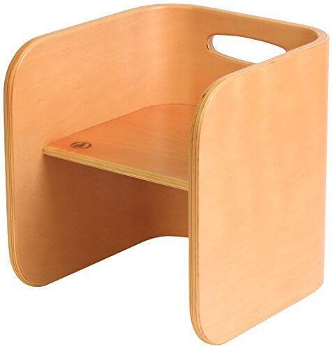HOPPL(ホップル) コロコロチェア&デスク コロコロチェア ナチュラル ビーチ材 CL-CHAIR-NA,離乳食,椅子,