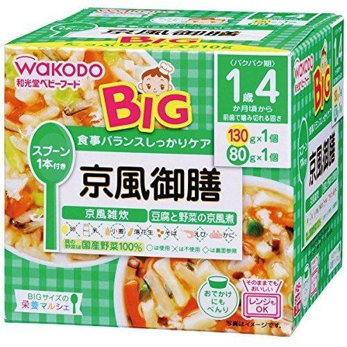 BIGサイズの栄養マルシェ 京風御前×3個,離乳食,外出,