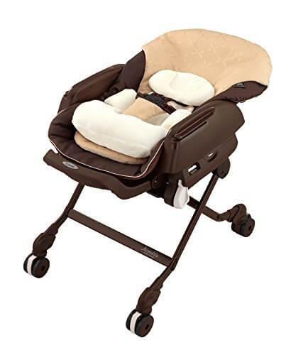 コンビ ホワイトレーベル ベビーラック ネムリラ AUTO SWING BEDi キャラメルベージュ BE 新生児~4才頃対象 オートスウィング機能,