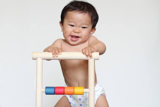 楽しそうな赤ちゃん,トイレトレーニング,いつから,体験談