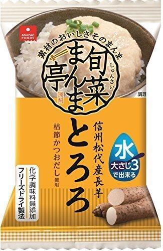 アスザックフーズ 信州松代産長芋とろろ 6.4g×6個,簡単,離乳食,