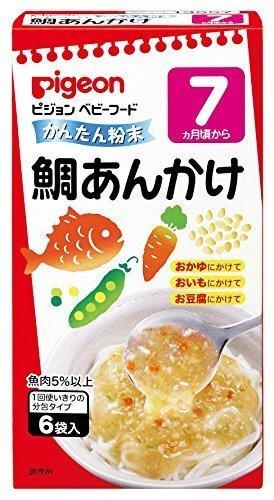 ピジョン ベビーフード (粉末) かんたん粉末 鯛あんかけ 6袋入×6個,離乳食,粉末,