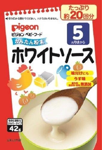 ピジョン かんたん粉末 ホワイトソース 42g×6袋,離乳食,粉末,