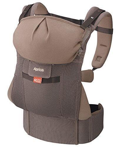 Aprica (アップリカ) 【体重2500gから使える】 抱っこひも コランCTS スマートブラウンBR 4WAYタイプ 【疲れにくい腰ベルト & サポートハーネス付】 39551,抱っこひも,比較,選び方