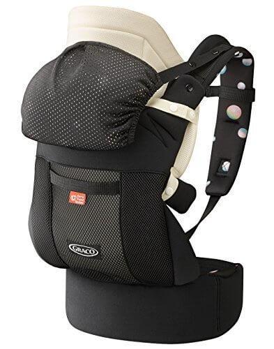 GRACO (グレコ) 腰ベルト付き子守帯 ルーポップゼロCTS シャボンディドットBK 【Carry Travel System + おくるみインサート + やわらかメッシュ搭載】 67553,抱っこひも,比較,選び方
